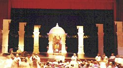 Articles the arangetram scene by ramaa bharadvaj for Arangetram stage decoration ideas